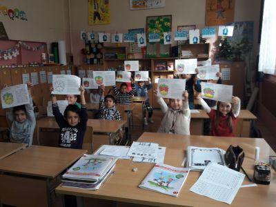 Национална седмица на четенето 2017г. - ОУ Св. Климент Охридски - Професор Иширково