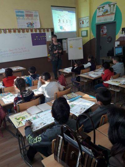 Събиране и изваждане до 100 с преминаване - открит урок във втори клас - ОУ Св. Климент Охридски - Професор Иширково