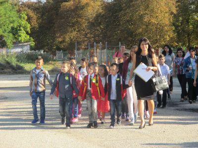 Откриване на учебната 2017/2018 година - ОУ Св. Климент Охридски - Професор Иширково