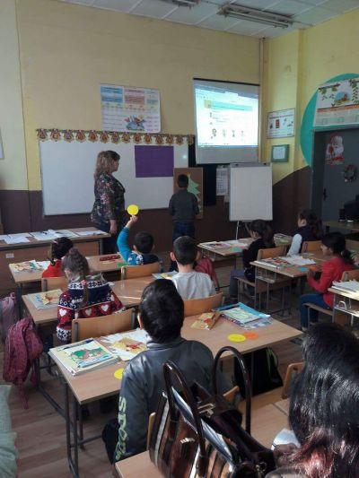 Открит урок във втори клас - ОУ Св. Климент Охридски - Професор Иширково