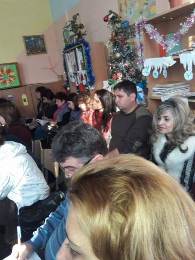 Открит урок във втори клас-гости - ОУ Св. Климент Охридски - Професор Иширково