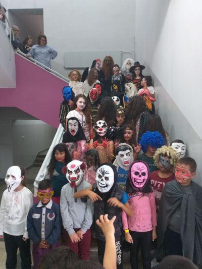 Участниците от 1 до 9 клас - ОУ Св. Климент Охридски - Професор Иширково