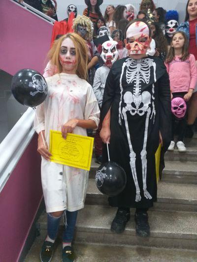 Победители: Гюлсерие Бирсен-8 клас и Емирхан Ергюхан-7 клас - ОУ Св. Климент Охридски - Професор Иширково