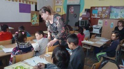 Открит урок във втори клас с кл. ръководител Пламена Йорданова - ОУ Св. Климент Охридски - Професор Иширково